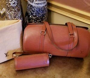 Part 1 Louis Vuitton Kenyan Fawn Epi Souflot Bag
